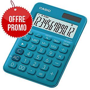 Calculatrice bureau Casio ms-20uc bleu 12 chiffres