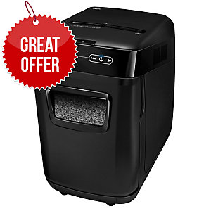 Fellowes AutoMax™ 200M Micro-Cut Shredder