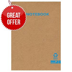 Silvine Kraft Recycled Notebook A5