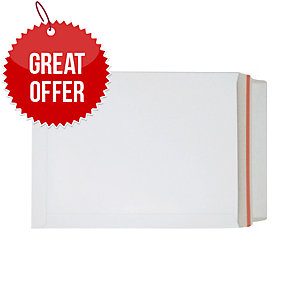 Lyreco Board Back Envelope 330X248mm White Box Of 100
