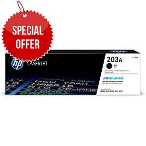 HP CF540A 203A Laser Toner Cartridge Black