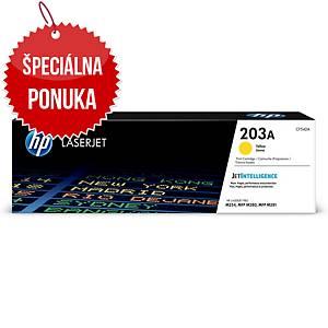 HP laserový toner 203A (CF542A) žltý