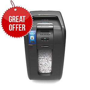 GBC 300X AUTO SHREDDER