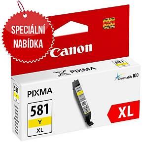 CANON inkoustová kazeta CLI-581Y XL (2051C001), žlutá