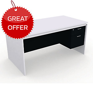DESUKU FX1502 OFFICE TABLE 150X80X75 CM RIGHT