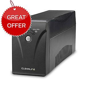 CLEANLINE EL-1000X UPS 1000VA/410W BLACK