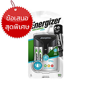 ENERGIZER เครื่องชาร์จ + ถ่าน รุ่น CHVCM PRO