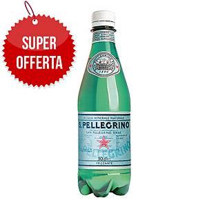 Acqua minerale frizzante S. Pellegrino bottiglia 0,5 l - conf. 24