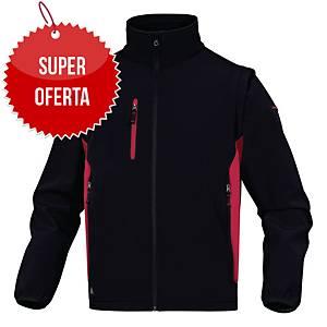 Kurtka Softshell DELTA PLUS MYSEN2, czarno-czerwona, rozmiar S