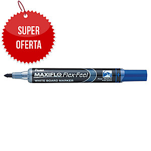 Marker PENTEL MWL5SBF Maxiflo Flex-Feel, wkład niebieski
