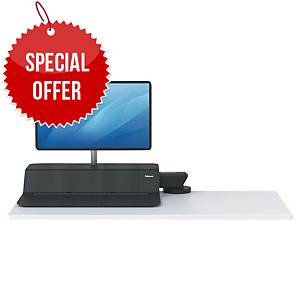 SIT-STAND WORKSTATION FELLOWES 8081501 LOTUS RT black