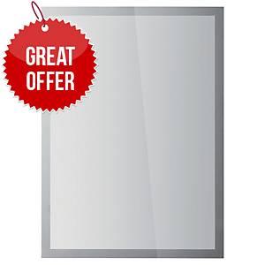 Durable Duraframe Sun A3 Silver - Pack of 2