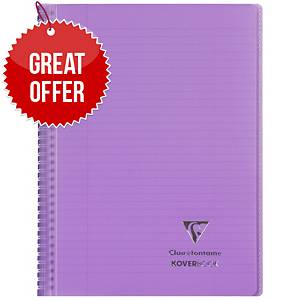 Clairefontaine Koverbook A4+ Purple