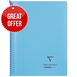 Clairefontaine Koverbook A5+ Blu