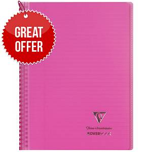 Clairefontaine Koverbook A5+ Pink