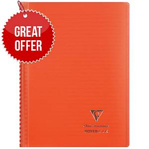 Clairefontaine Koverbook A5+ Red