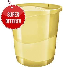 Cestino Esselte Color Ice polistirene 14 L giallo trasparente