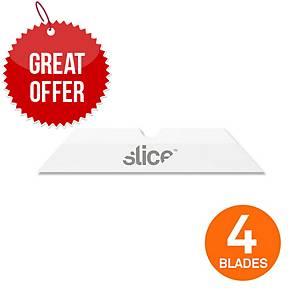 Slice 10408 Bx Blades CEram Pointed Pack of 4