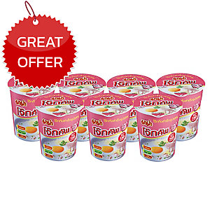 MAMA INSTANT JOKE CUP PORK  PACK OF 6
