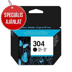HP tintasugaras nyomtató patron 304 (N9K06AE) fekete