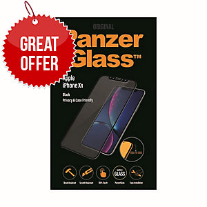 Panzerglass Apple Iphone XR Case Friendly Privacy, Black - Screen Protector
