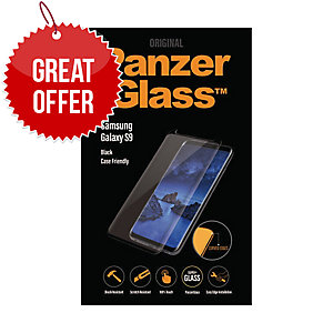 Panzerglass Samsung Galaxy S9 Black, Case Friendly - Screen Protector