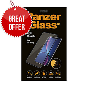 Panzerglass Apple Iphone XR Case Friendly, Black - Screen Protector