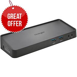 Kensington K33991WW USB 3.0 Dual Docking Station (SD3600 Vesa Mount Dock)
