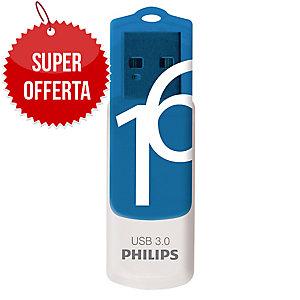Memoria USB Philips Vivid 16 GB 3.0 blu