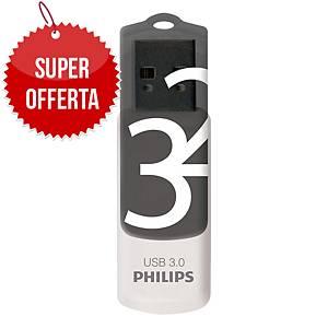 Memoria USB Philips Vivid 32 GB 3.0 grigio