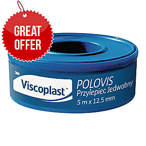 3M POLOVISPLUS BANDAGE TAPE 5MX12.5MM