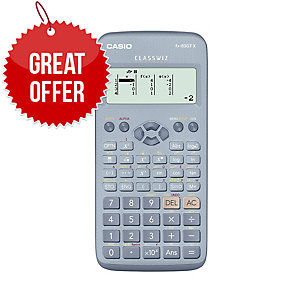 Casio GCSE Scientific Calculator With Battery Blue