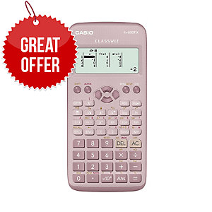 CASIO FX-83GTX PLUS SCIENTIFIC CALCULATOR PINK