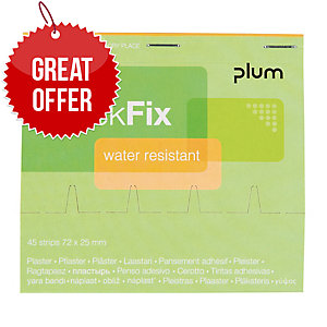 BX45 PLUM QUICKFIX WATER RES PLASTER RFL