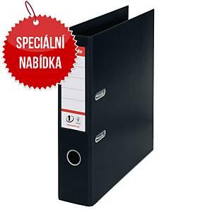 Pákový pořadač Esselte No. 1 Power Vivida, A4, šířka hřbetu 7,5 cm, černý