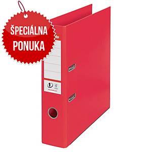 Pákový zakladač Esselte No. 1 Power VIVIDA, A4, šírka chrbta 7,5 cm, červený