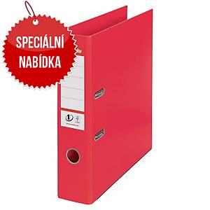 Pákový pořadač Esselte No. 1 Power Vivida, A4, šířka hřbetu 7,5 cm, červený