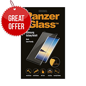 Panzerglass Samsung Galaxy Note9, Blk Case Friendly W. Pg Case- Screen Protector