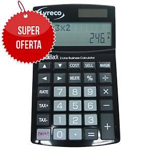 Kalkulator nabiurkowy LYRECO 12 - pozycyjny czarny
