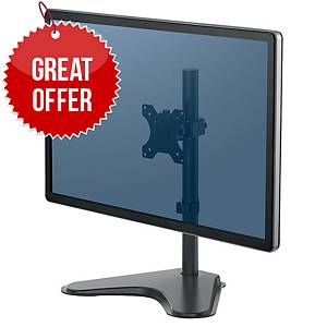 Fellowes 8049601 Professional Series Monitor Arm Single/Free-Standing