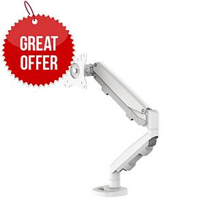 Fellowes 9683201 Eppa Single Monitor Arm White