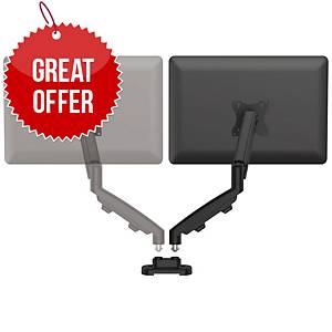 Fellowes 9683601 Eppa Dual Arm Kit Black