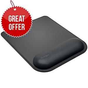 Kensington K52888EU Ergosoft™ Mousepad With Wrist Rest For Standard Mouse Black