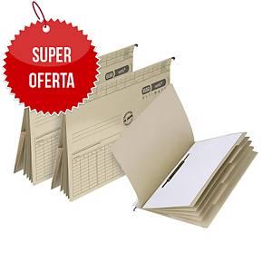 Skoroszyt zawieszkowy ELBA Vertic Ultimate z przekładkami, 25 sztuk