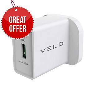 VELD VH18AW Super-Fast USB Wall Charger 18W