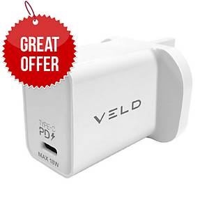 VELD VH18BW Super-Fast Type-C Wall Charger 18W