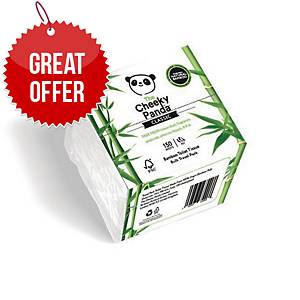 Cheeky Panda Toilet Tissue Bamboo 150-Sheet - Pack Of 36