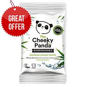 Cheeky Panda Handy Wipes Biodegredable - Pack Of 12