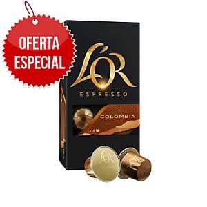 Pack de 10 cápsulas de café Variedade de café - Colombia