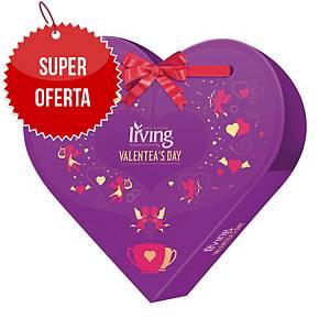 Herbata walentynkowa IRVING Valentea s Day, miks smaków, 24 koperty